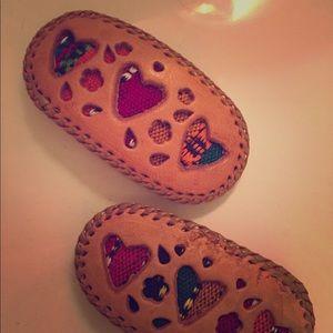 Barrettes handmade from Guatemala